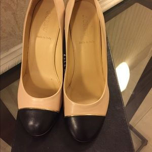Jcrew Etta Pump two tone Sz 8